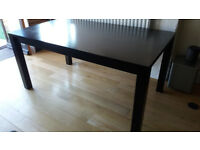 Quality Modern Solid Wood Dining Table - Dismantled for Transportation