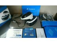 Playstation 4 VR headset Boxed with Playstation move VR worlds and more