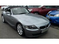2007/07 BMW Z4 2.0 SPORT ROADSTER, STUNNING LOOKING CONVERTIBLE WITH FULL BLACK LEATHER SEATS