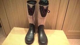 Laura Ashley Wellington boots