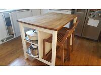 Ikea Stenstorp kitchen island (Dalston/Islington/Hackney)