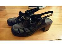 Size 5 Black Jelly Shoes from New Look