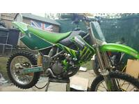 Both big wheel yz85 2014 kx85 2005
