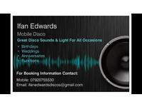 Mobile Disco - Great Sound and Light for All Occasions!