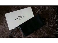 Genuine leather Coach Cluth