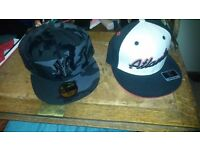 2 pcs Fitted baseball Hats Snapback + Sox Bomber jacket. New Era Cap Fashion Apple