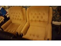 Cheap 3 and 2 seater sofa for sale brown colour