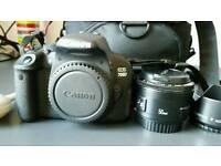 Canon 700D/18-135mm&50mm lenses