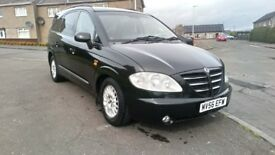56 Ssangyong Rodious 2.7 diesel luxury 7 seater