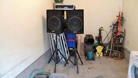 PA System/ disco sound system