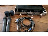 Wireless microphone set skytronic uhf325
