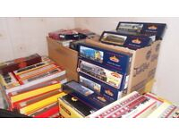 Wanted Model Railway Train Set items by Hornby Triang Bachmann Lego etc any size & Cast iron signs