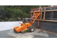 Stump grinder for hire or with operator