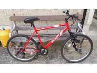 Mens 18 speed apollo bike