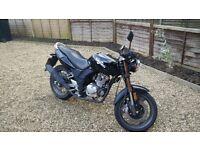 Sinnis Stealth Motorcycle 125 cc - Black Learner Legal Well Kept Motorbike