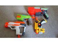 Alsorts of nerf guns
