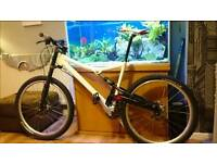 Cannondale Rush full suspension with Lefty size large