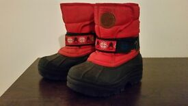 Kids snow boots from Next (Size 6)