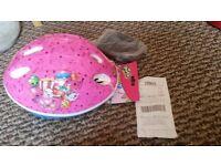 child/toddler bike helmet shopkins size xsmall NEW