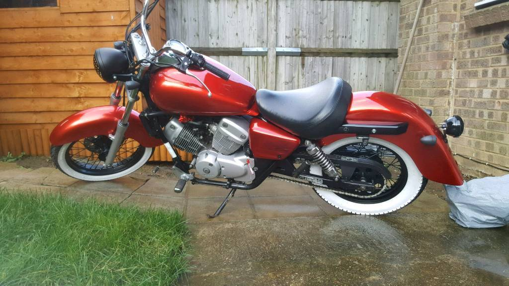 honda shadow 125 vtwin in kennington kent gumtree. Black Bedroom Furniture Sets. Home Design Ideas