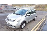2008 Nissan Note Acenta MPV 1.4 Petrol 1 Year MOT Full Service History 61000 Miles Only..