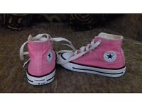 size 6 infant pink converse