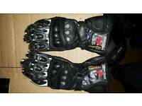 Small motorcycle gloves