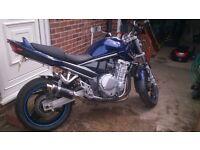 Suzuki ,blue , low milage good condition