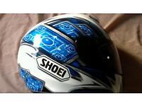 Shoei xl motorbike helmet