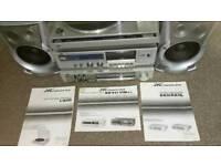 JVC Record player / Amplifier / Radio / cassette deck