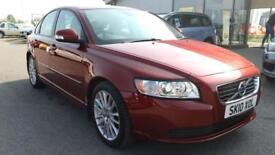 VOLVO S40 1.6 D DRIVE SE LUX 4d 109 BHP * QUALITY & BEST VALUE ASSURED * (red) 2010
