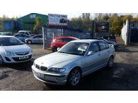 2002 (02 Reg) BMW 330 D SE AUTOMATIC 2.9 4dr Saloon FOR SALE £1395 MOT'D TILL 17/11/2018