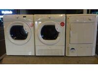 Hoover, Beko condenser dryers £ 89 each, Tested Good working order