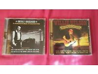 Country CD's: Willie Nelson and Merle Haggard