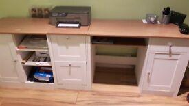 Shaker style study furniture