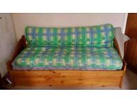 Futon and mattress