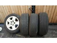 Vauxhall alloy wheels 225/55/17 insignia astra zafira
