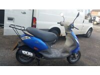 2006 Piaggio Zip 50 cc Moped - Non-Runner (Spares, Repair or Restoration)