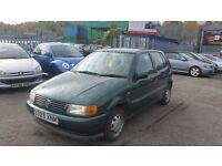 1998(S Reg)Volkswagen Polo 1.4 AUTOMATIC CL 5dr 31,000 miles MOT TILL 03/06/2017 & 3 MONTHS WARRANTY