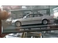 James Bond 007 diecast car collection (47) excellent condition unopened boxes.