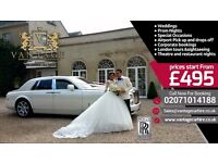 Rolls Royce Phantom Bentley Mercedes Range Rover Hire - Wedding Car Hire - Chauffeur Car Hire