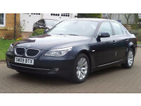 BMW 5 SERIES 2.0 520D SE BUSINESS EDITION 4d 175 BHP Service Record, 1 Previous owner Sat Nav