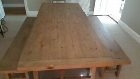 Wooden Furniture Reclaimed Wood Style: tables, benches, chairs