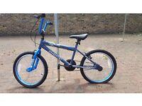 Boys Zombie 16in blue bike