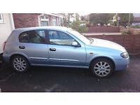 2004 Nissan Almera SE 1.5 Petrol 5 Door Hatchback