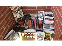 NICE COLLECTION OF 47 BOOKS, POP & ROCK MUSIC REFERENCE BOOKS & OTHER SUBJECTS