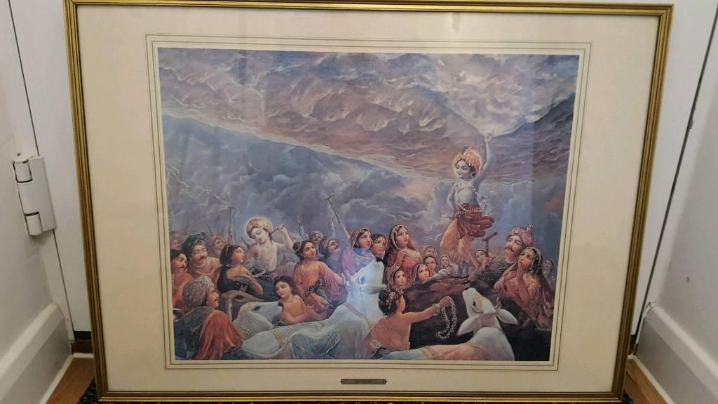 Framed print - Krishna artwork
