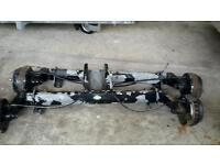 Cracking set of alko 2x 11 50 kg braked axles ideal boat trailer build or replacement no vat