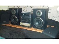 Technics quality audio setup