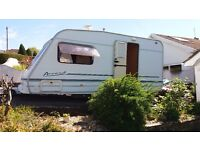 Swift Accord 470, 2001, 2 berth lightweight caravan in excellent condition, offers considered.